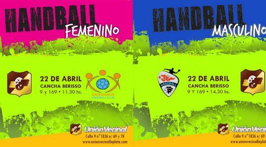 El handball vuelve a la competencia oficial