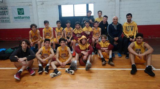 Los U13 disputaron el Regional