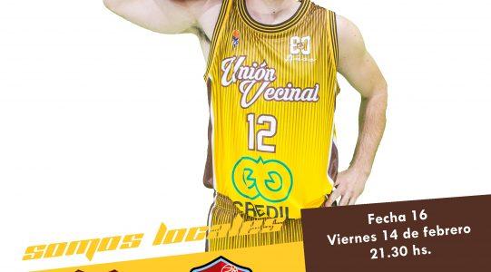 El Amarillo recibe a Zárate Basket en un duelo clave