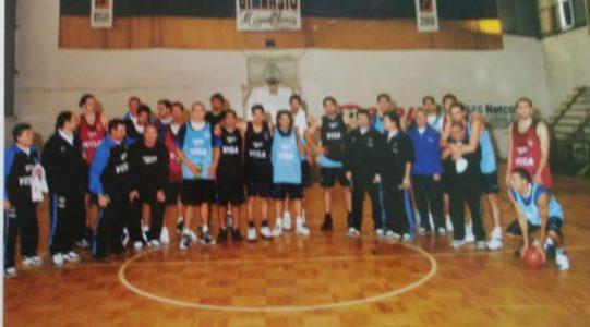 Historia de una foto: la Selección Argentina en Unión Vecinal